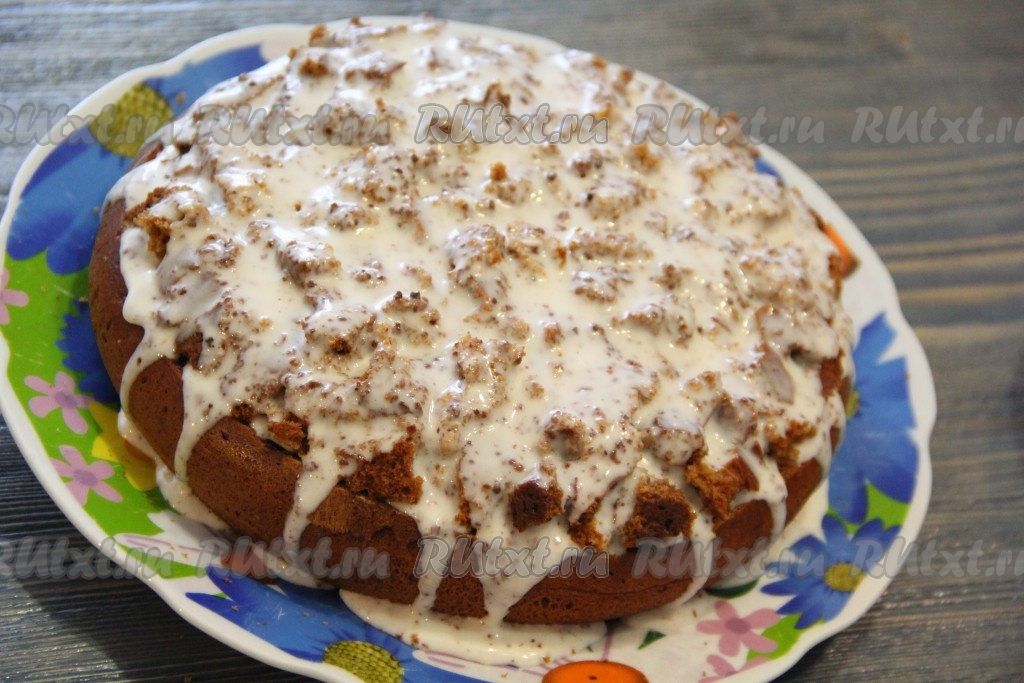 бананово-творожный торт рецепт фото