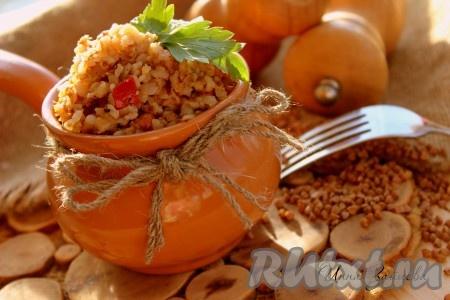 гречка с голенями в духовке рецепт с фото