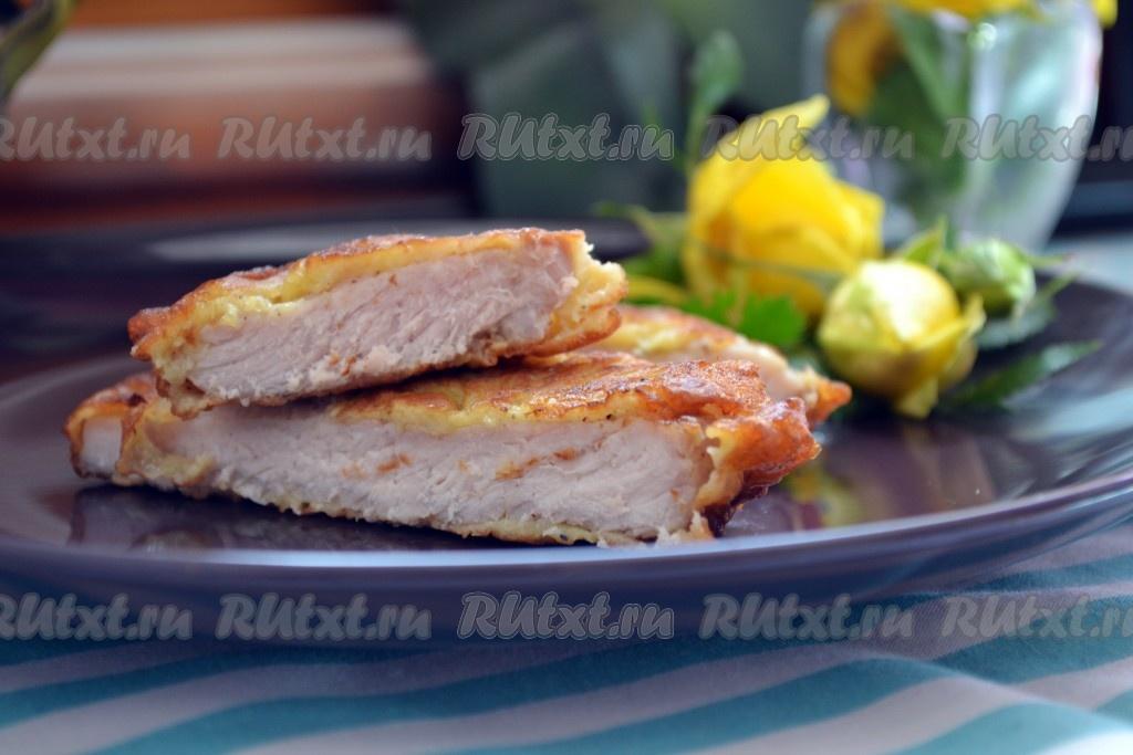 отбивные из свинины сочные на сковороде рецепт с фото