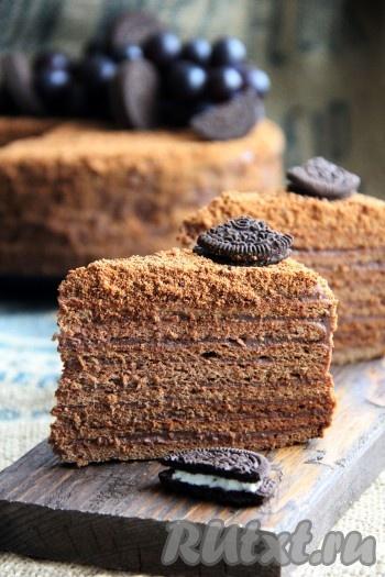 братика шоколадный медовик дамский каприз рецепт с фото роскошные черные