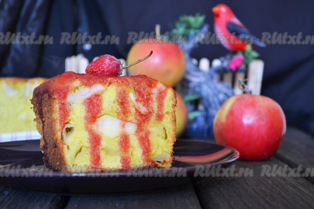 рецепт приготовления очень вкусной шарлотки с яблоками