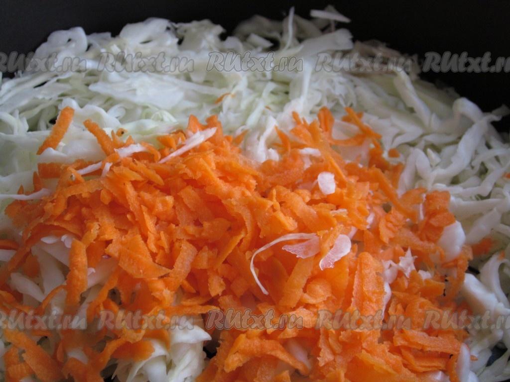 Начинка с капустой и яйцом для пирожков