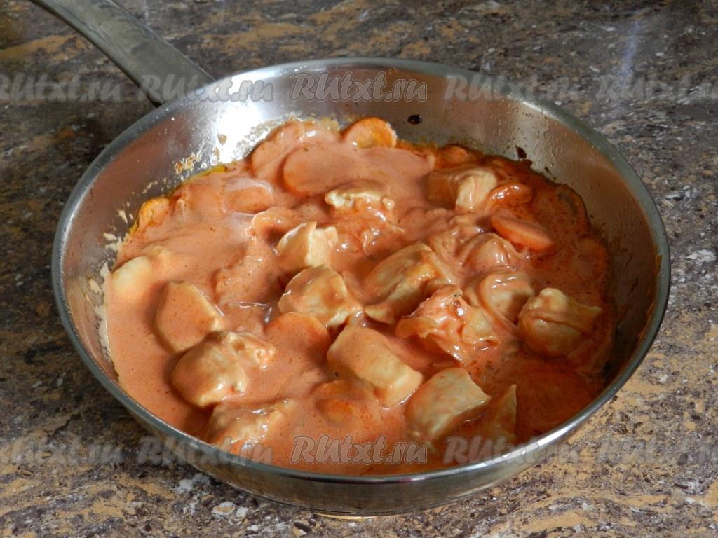 тушить кабачки рецепт с курицей