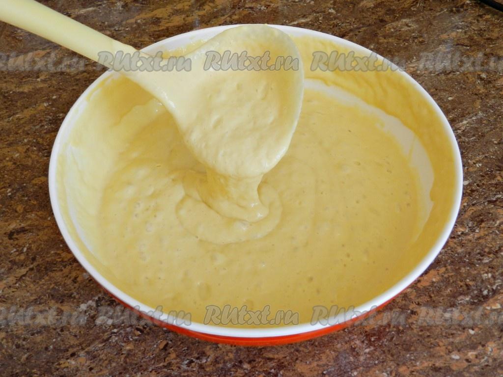 Блины на кислом молоке на дрожжах рецепт пошагово