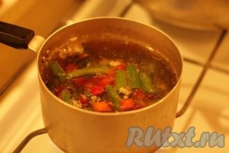 рецепт овощного супа из замороженных овощей