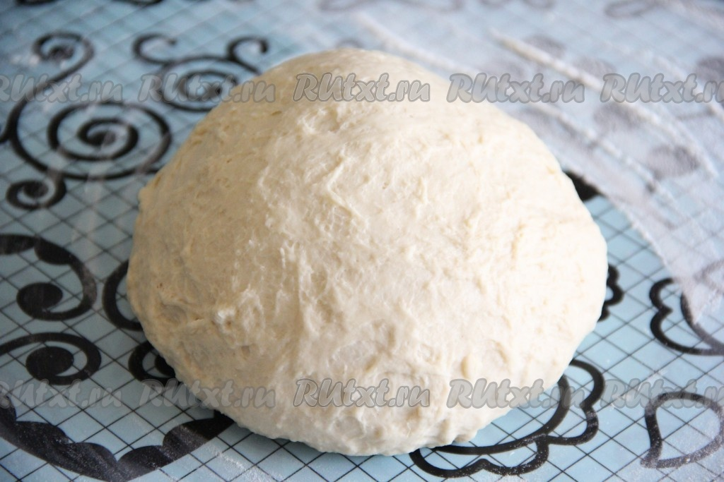 Рецепт дрожжевого теста для хачапури фото