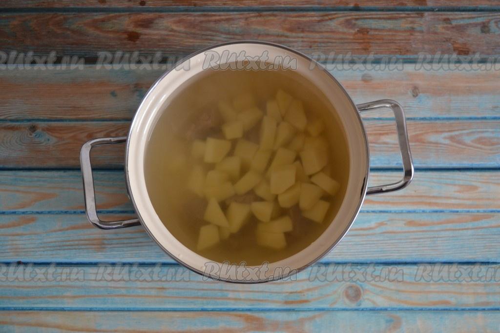 приготовление супа из говядины рецепт с картошкой
