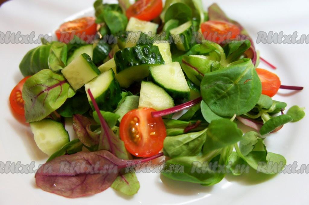 Листья салата рецепт