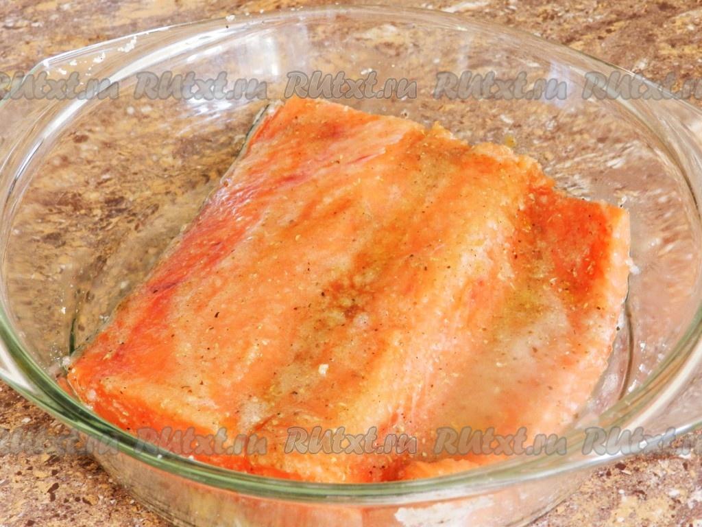 Как посолить кету в домашних условиях простой рецепт