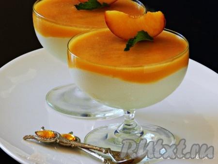 Десерты с фруктами: рецепты приготовления с фото