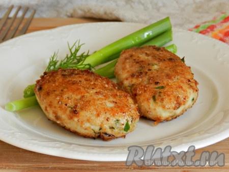 Куриные котлеты с картошкой рецепт с фото