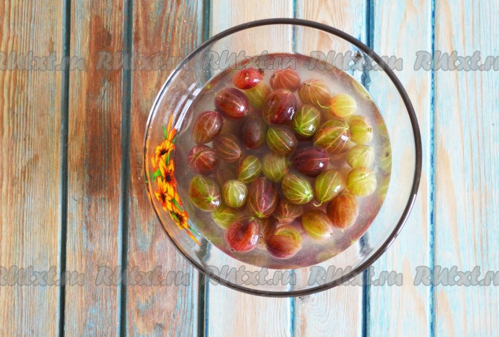 Царское варенье из крыжовника с вишневыми листьями рецепт