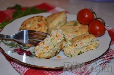 курино-овощные котлеты рецепт с фото
