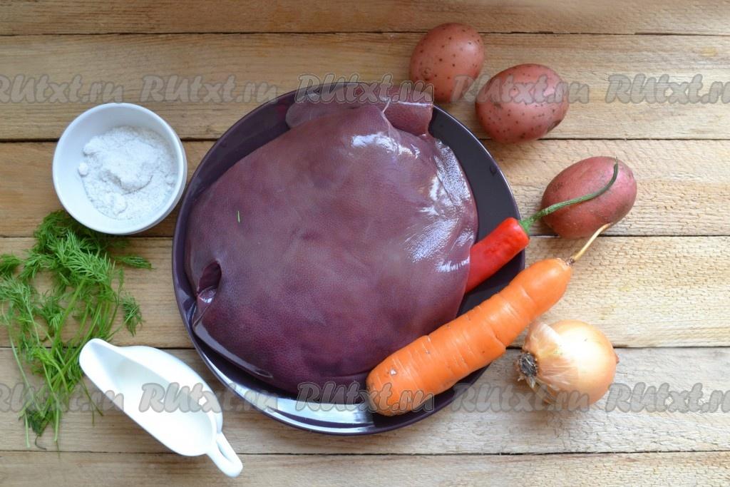 готовим свиную печень рецепты с фото