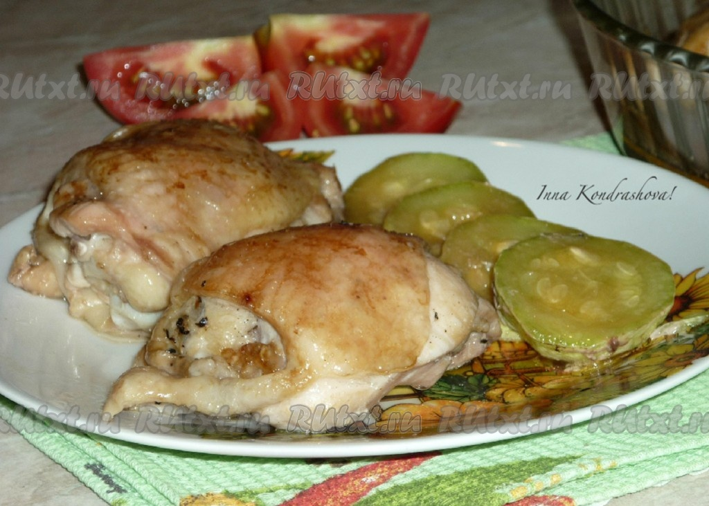 курица в духовке правильное питание рецепт