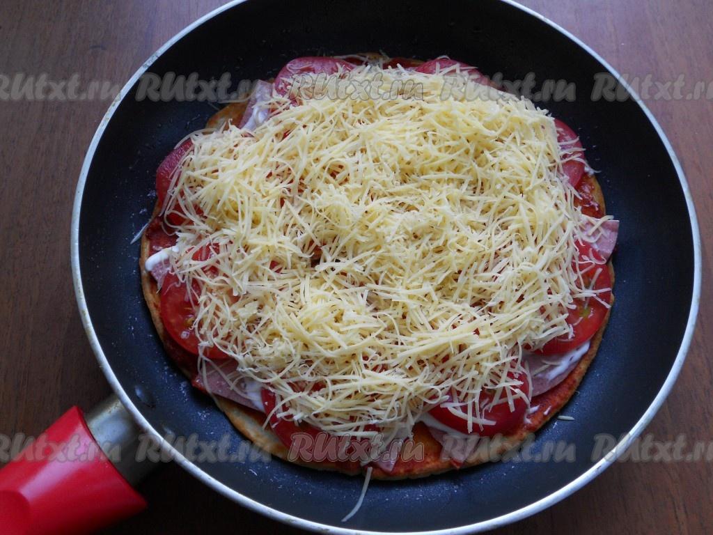 Пицца кефире пошаговый рецепт фото