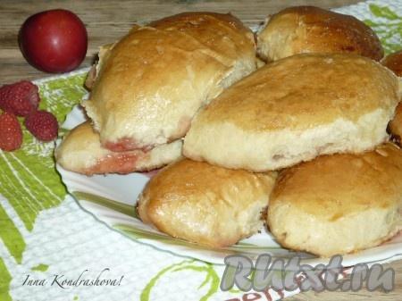 рецепт пирожков с дрожжевого теста в духовке с фото