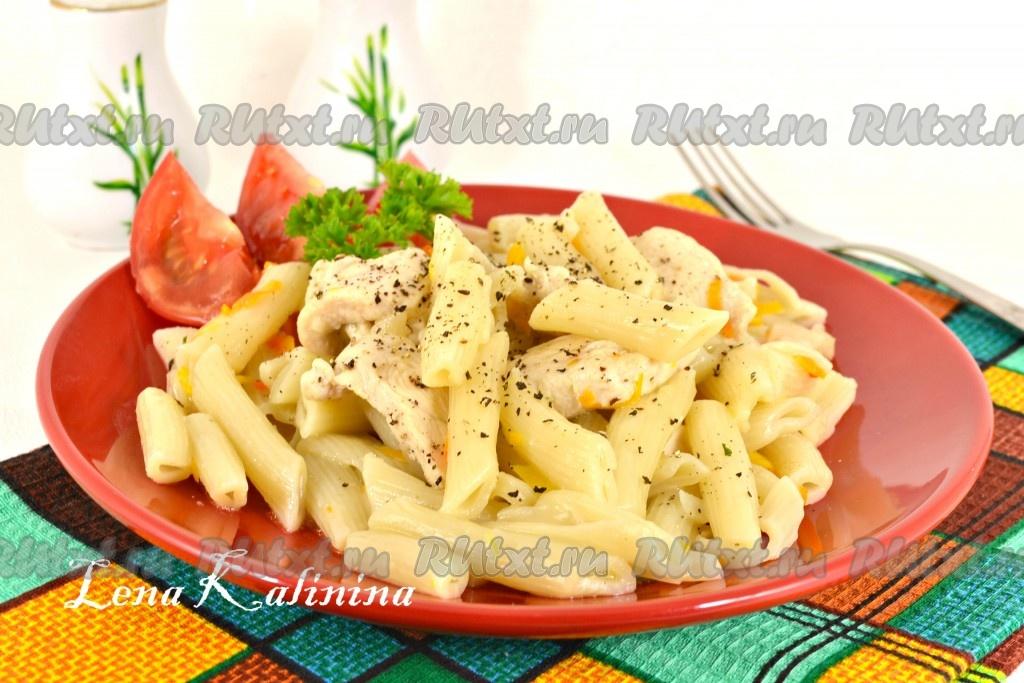 Куриное филе с макаронами рецепты с фото