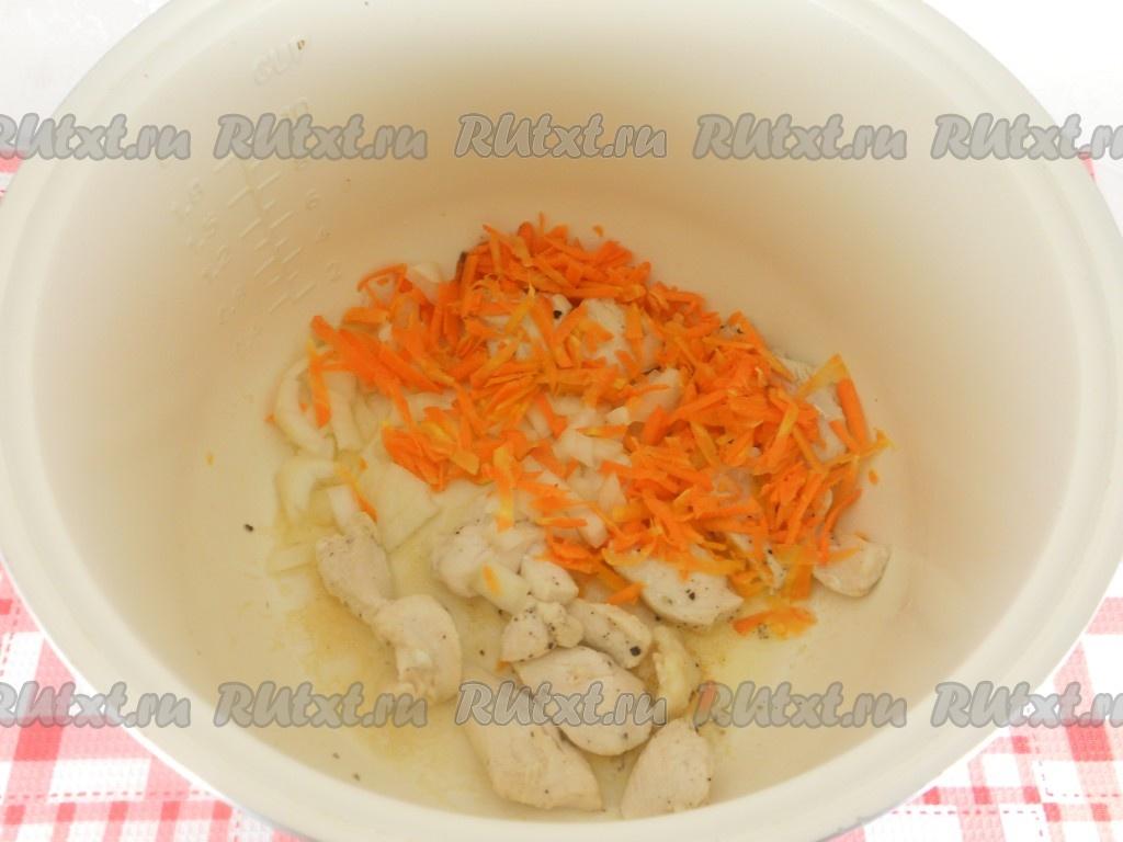 Рецепт мультиварка макароны и куриное филе
