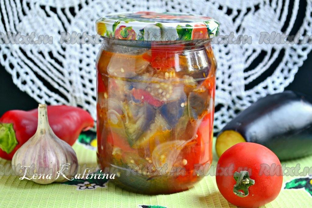 Овощное рагу зимойы с фото