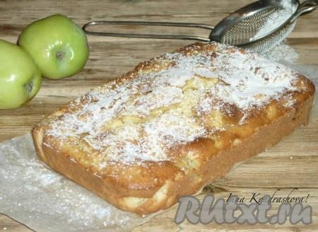 рецепт шарлотки на молоке с яблоками в духовке