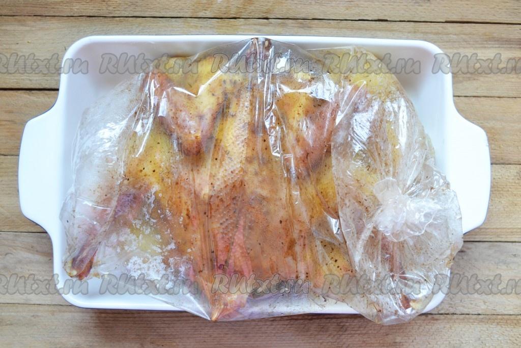 курица в духовке рецепт рукав
