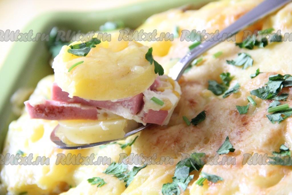 Запеканка из картошки