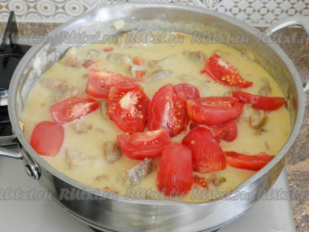 Тушеные овощи рецепт на сковородке пошагово