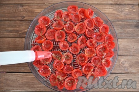 Вяленые помидоры в сушилке для овощей рецепты