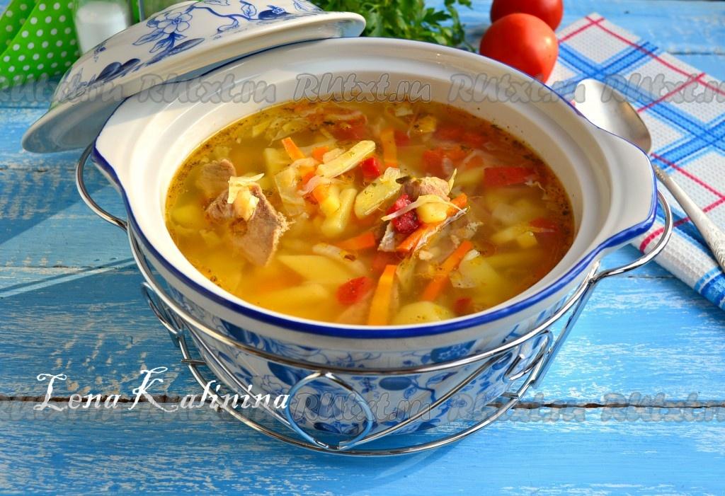как приготовить вкусный суп из говядины гуся