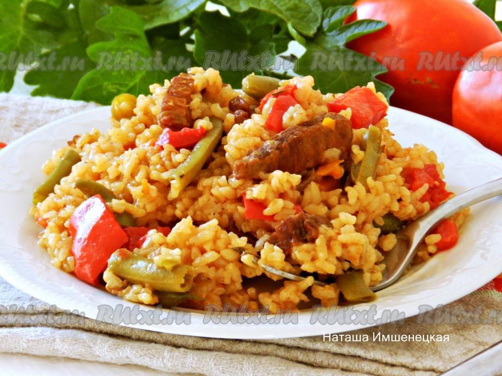 Рецепты из мяса и овощей