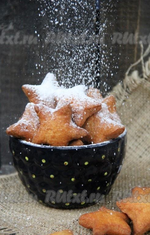 печенье во фритюре рецепт с фото