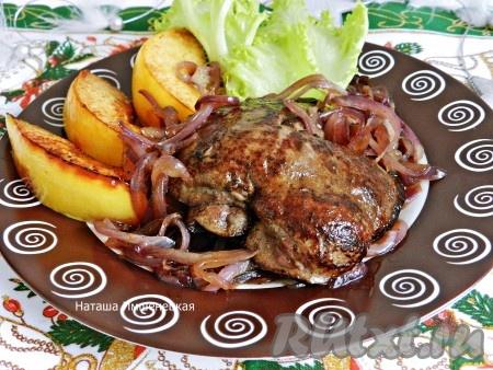 рецепт приготовления бараньей печени с фото