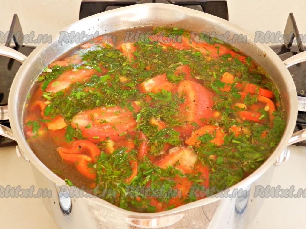 вкусный суп шурпа рецепт с фото