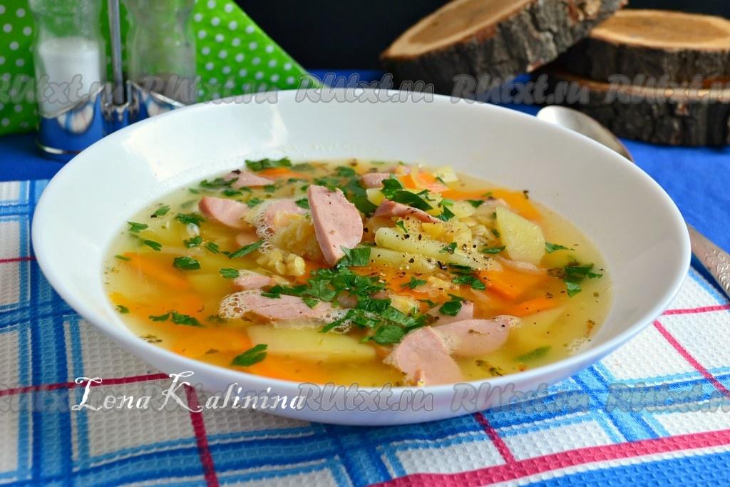 рецепт приготовления суп солянка из колбасы