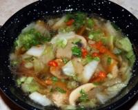 Блюда из пекинской капусты