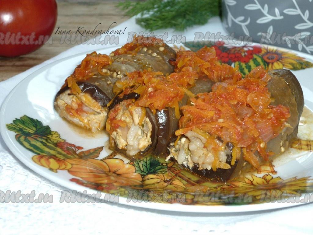 Соус с мясом и баклажанами — 2
