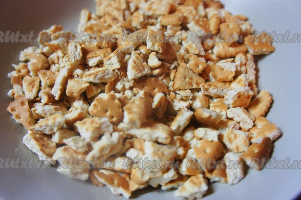 Рецепт сладкой колбаски из кукурузных палочек