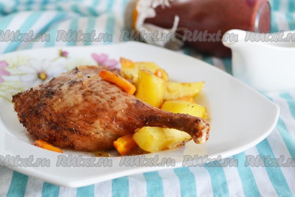Утка порционно в духовке рецепт