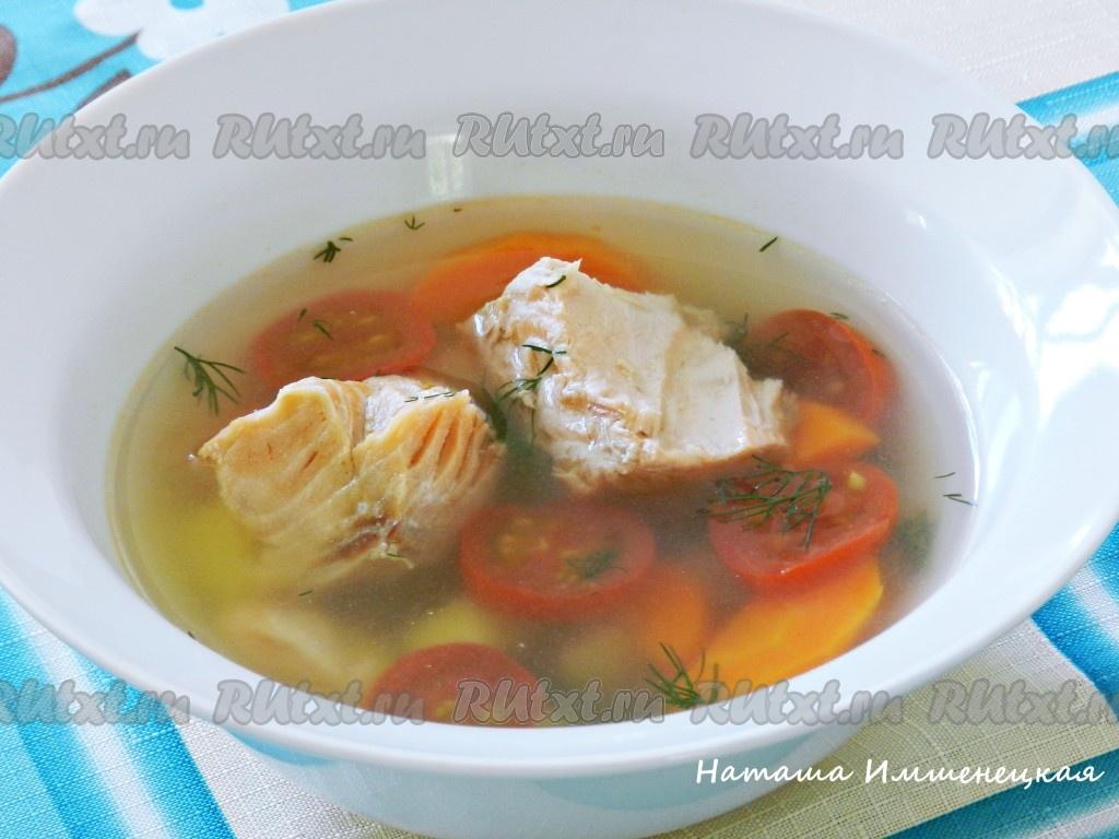 рецепт рыбного супа из красной рыбы с фото пошагово