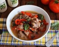 рецепт приготовления шулюма из свинины