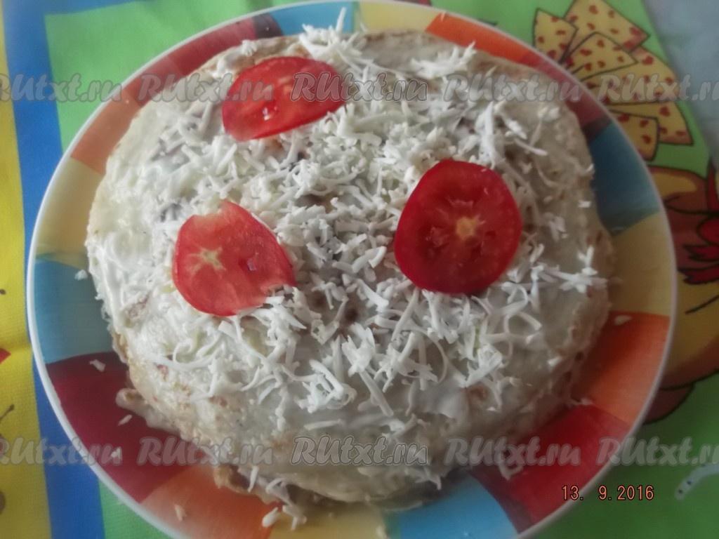 Кабачковый торт рецепт с пошагово с плавленным