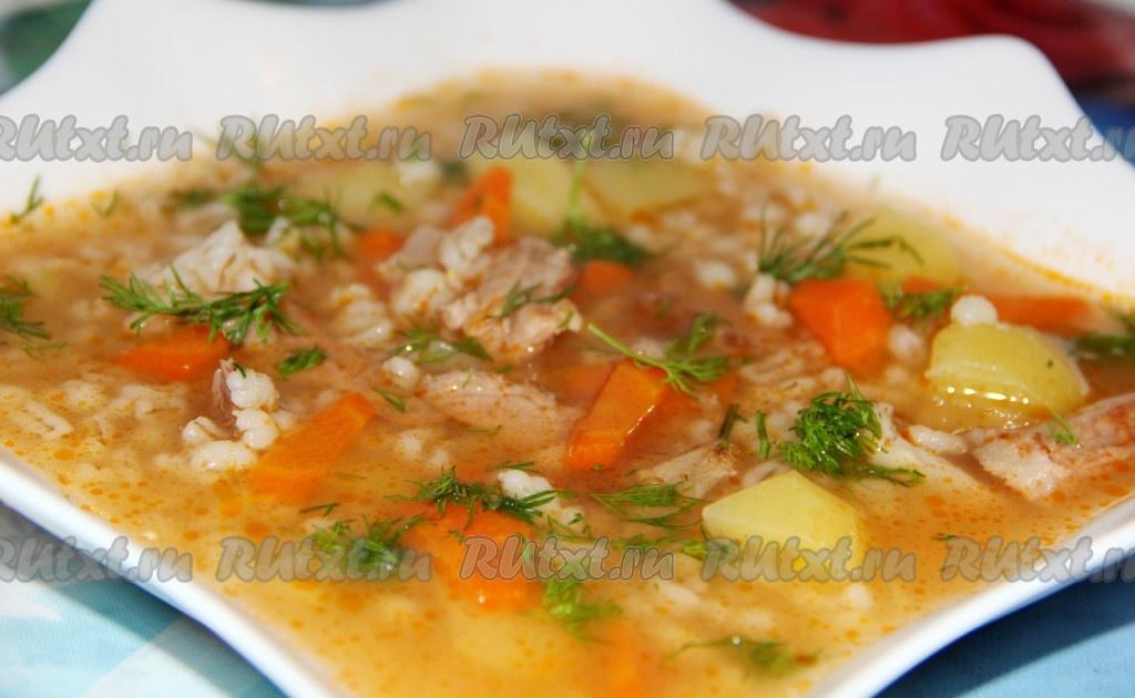 суп из перловки рецепт без огурцов рецепт