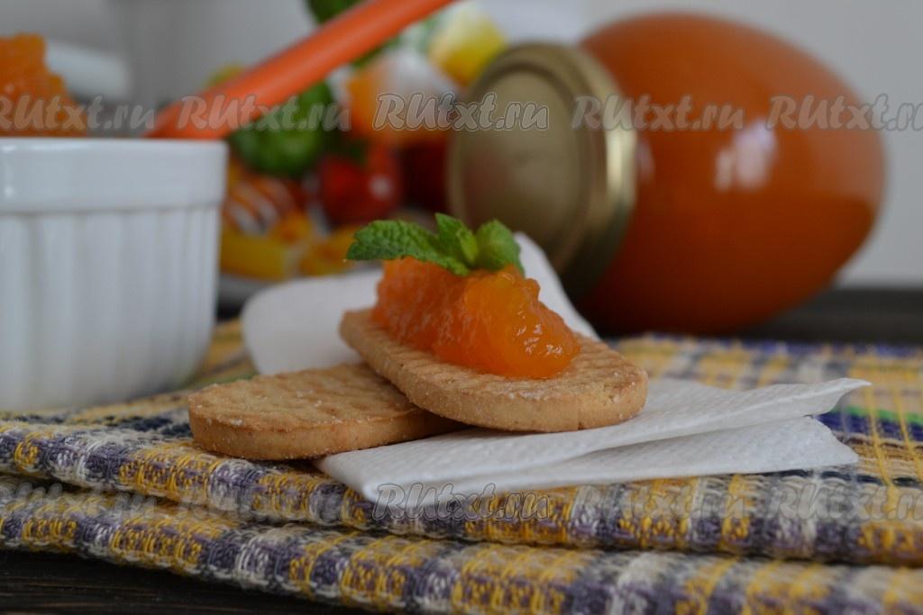 простой рецепт варенье из тыквы