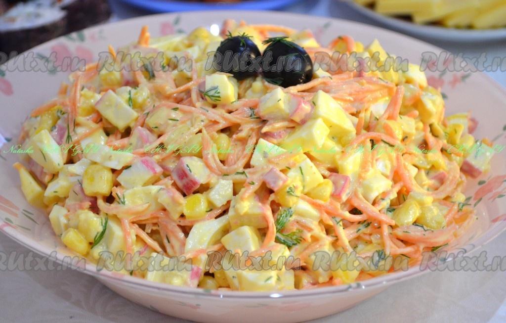 салат с морковка по корейски рецепт