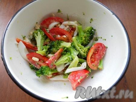 салат из брокколи яйцом рецепты с фото
