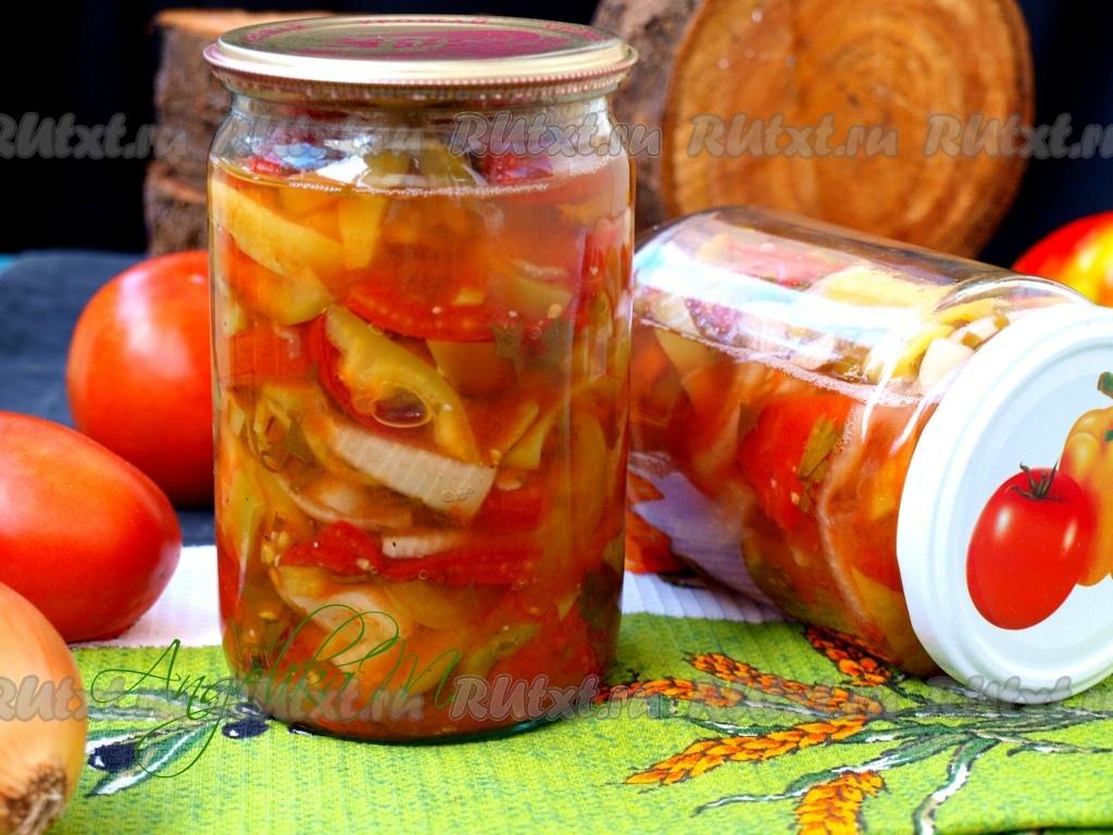Рецепт донского салат на зиму — 7