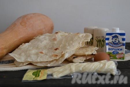 Лаваш с сыром сулугуни - лучшие рецепты