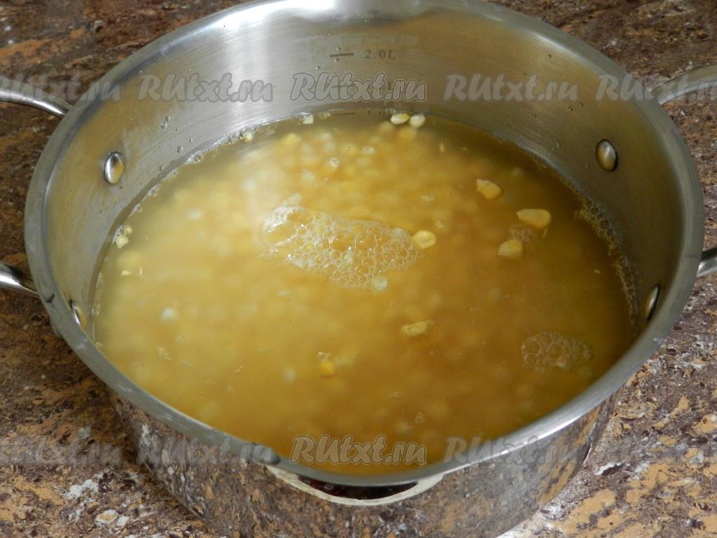 Как варить кукурузу замороженную в кастрюле