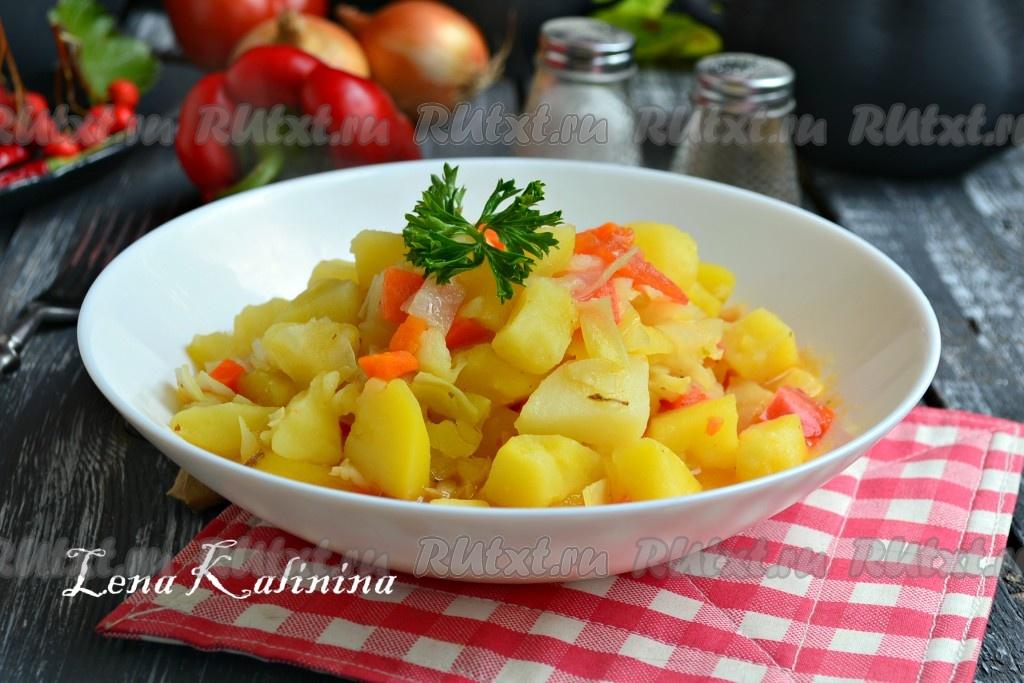 рецепт картофеля в фольге в духовке с мясом и